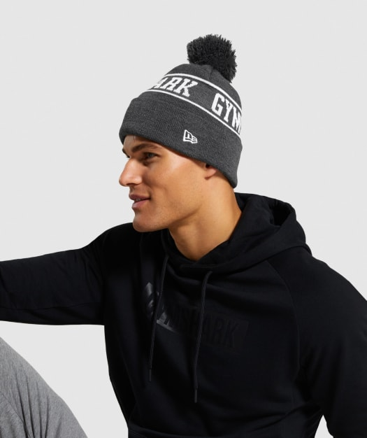 New Era Gs Tab Beanie by Gymshark