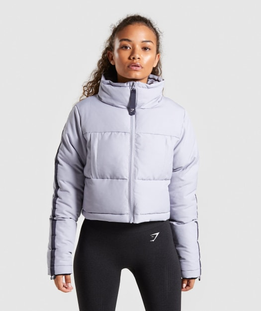 Oversized Puffer Jacket by Gymshark