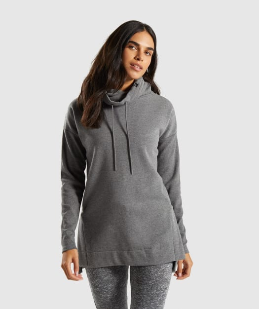 Slounge Ribbed Pullover by Gymshark