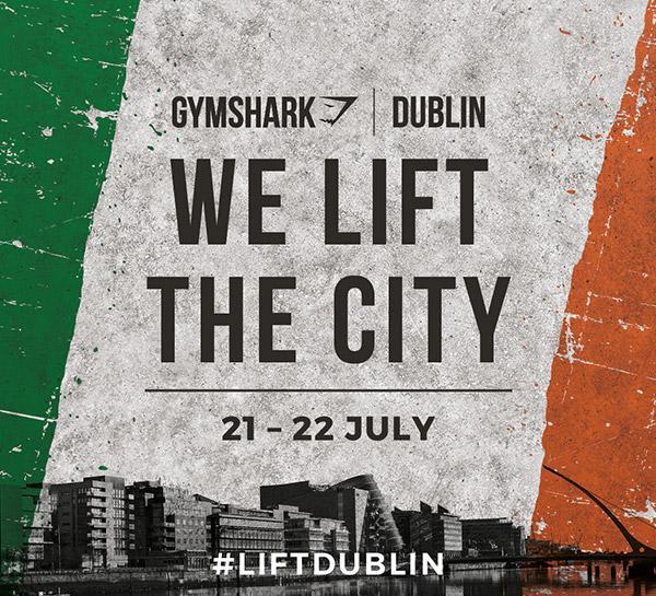 Gymshark Dublin | Pop-Up Store