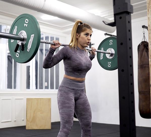 Training With Emilie Détré