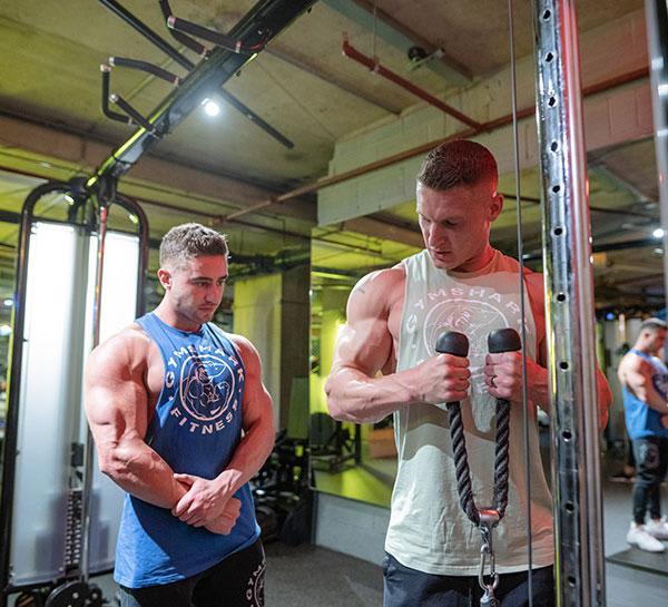 Training With Matt Morsia And Zac Perna
