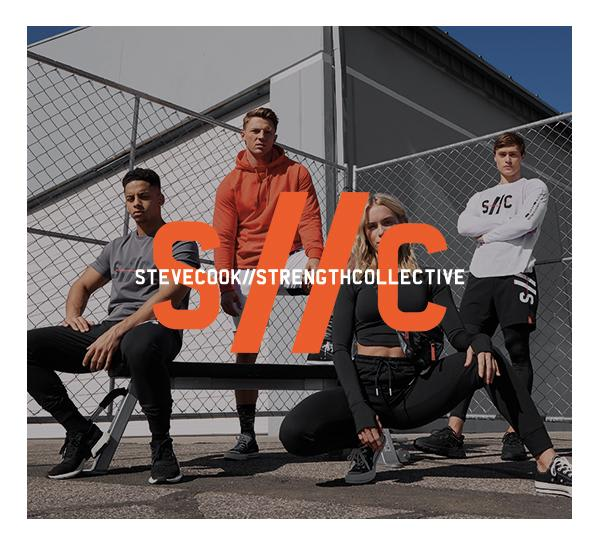 Gymshark x Steve Cook 2.0 // The Strength Collective