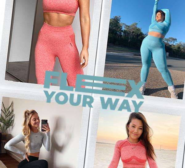A Visual History of Gymshark Flex + New Styles