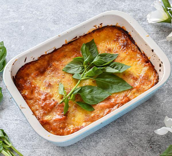 High-Protein Veggie Pasta Bake Recipe
