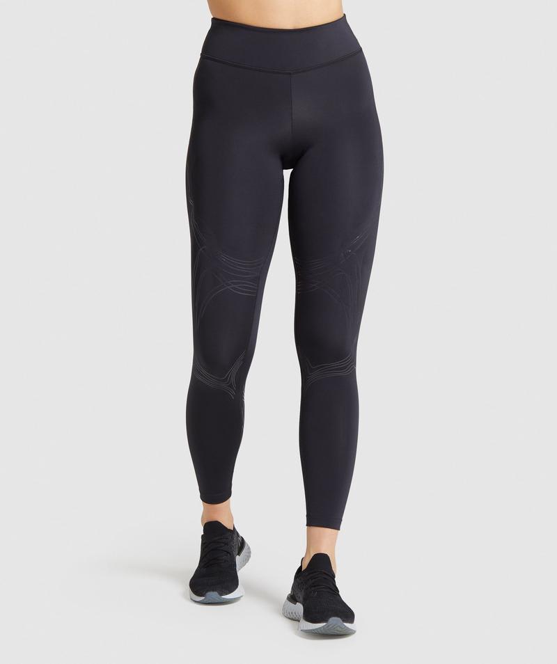 Activewear Leggings Sportivi 2 in 1 Uomo